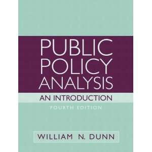 Public Policy Analysis An Introduction  (Value Pack w