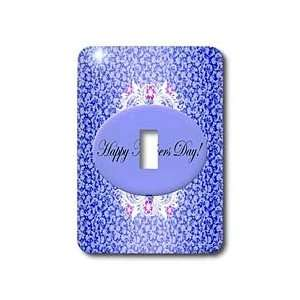 Edmond Hogge Jr Mothers Day   Dark Blue and White Floral Mothers Day