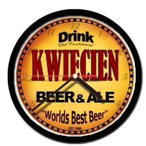 KWIECIEN beer and ale cerveza wall clock: Everything Else