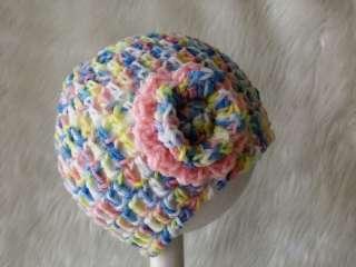 Crochet Knitted Baby Beanie Bonnet Hat NEW SIZES 0000 0