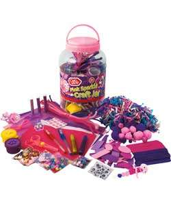 Buy Chad Valley Girls Pink Sparkle Craft Jar at Argos.co.uk   Your
