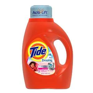 Tide Liquid Detergent plus a Touch of Downy, High Efficiency, 24 Loads