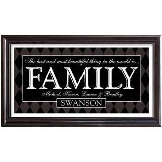 Personalized Best Things Family Print Personalized Gifts