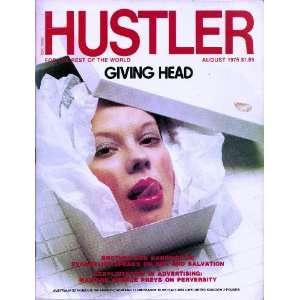 Hustler Magazine August 1976 Giving Head: HUSTLER: Books