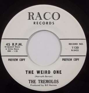 THE TREMELOS surf 45 HEAR promo RACO 1120 NM mp3 listen