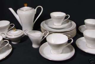 Edelstein Bavaria MID CENTURY TEA SET for 6 #20381