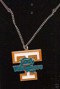 New UT Tennessee Lady Vols Power T Necklace