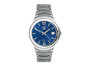 Newegg   ESQ Virtuoso Silver tone Swiss Quartz Movement Blue Dial
