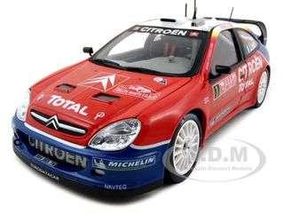Citroen Xsara WRC 2005 Rally Monte Carlo Winner #1 S.Loeb / D.Elena