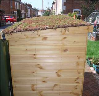 Green roof sheds