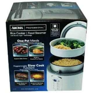 Aroma ARC 2000 4 20 Cups Sensor Logic Rice Cooker Food