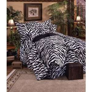 Zebra Print   Complete Bedding Set   California King Home