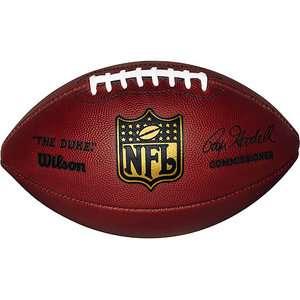 Wilson Official NFL Game Ball Football The Duke F1100 for Enhanced