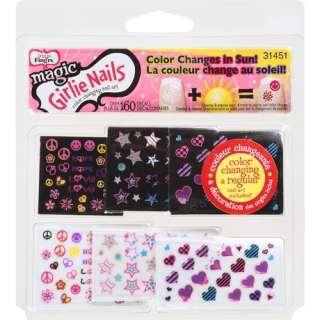 Fingrs Girlie Nails Magic Color Changing Nail Art, 1 Pk Makeup