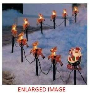 Reindeers Pathway lights christmas yard decorations