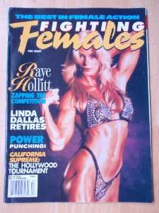 Lady female women wrestling magazine in excellent condition. American