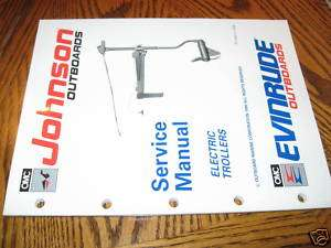 1991 Johnson/Evinrude Electric Outboard Service Manual