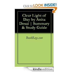 Clear Light of Day by Anita Desai  Summary & Study Guide BookRags