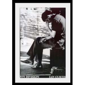 Joy Division Ian Curtis Bernard Sumner poster approx 33 x