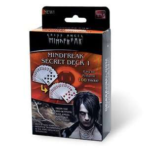 Criss Angel Secret Deck 1 Toys & Games