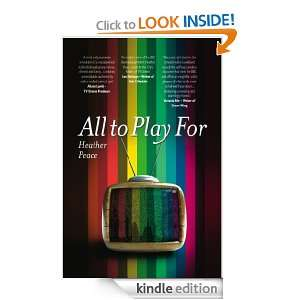 All to Play For: Heather Peace:  Kindle Store