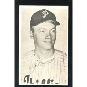 Jim Bunning 1967 Phillies Safe Driving Card   Sports Memorabilia