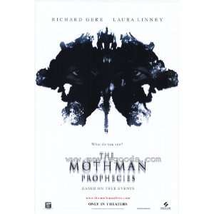 Mothman Prophecies Poster 27x40 Richard Gere Laura Linney Will Patton
