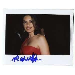 Mariska Hargitay Autographed Original Polaroid