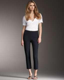 Cotton Spandex Capri Pants  Neiman Marcus