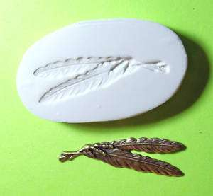 BIRD WING FEATHERS TALON ~ CNS polymer clay mold