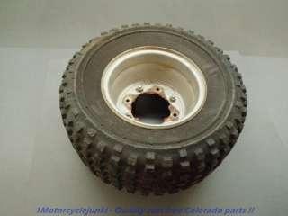 86 Honda TRX 70 front/ rear tire wheel rim OHTSU Fourtrax