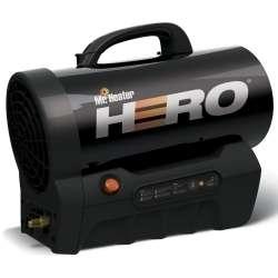 Mr Heater MH35CLP Hero Cordless Forced Air Propane 35,000BTU