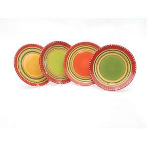 International Hot Tamale Salad Plates (Set of 4) Kitchen & Dining