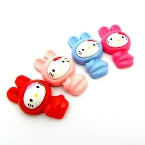 Melody Bunny Riabbt Hello Kitty Flatback Resin Embellishments