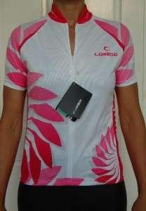 Lambda Ladies Pink Top Shirt Jersey cycling bike XL16