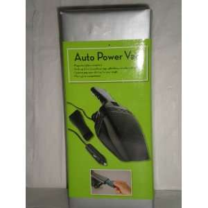 Auto Car Power Vac, Vacuum Plugs Into Lighter: Automotive