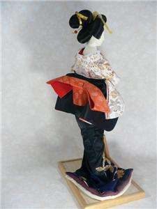 Stunning Japanese Geisha DOLL Beautiful Kimono