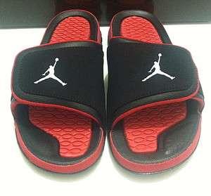 NIKE Jordan Hydro 2 Black Red Sandal Slippers 312527 020 Sz8 13