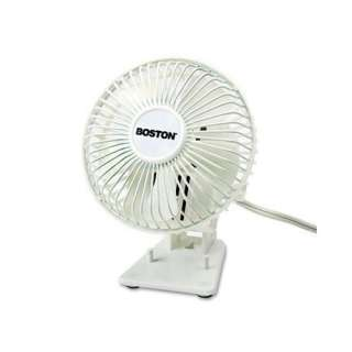 Personal Desk Fan, Plastic, White Heating, Cooling, & Air Quality