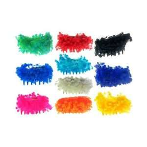 Assorted Color Acrylic Hair Claws Case Pack 60   681596 Beauty