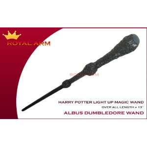 Harry Potter Albus Dumbledore Light up Magic Wand: Toys