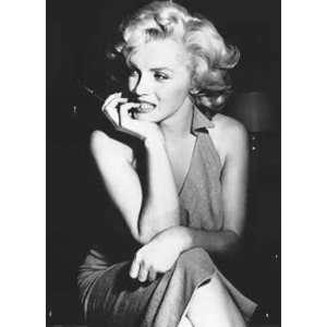 Marilyn Monroe   Dress by unknown. Size 40.00 X 55.00 Art