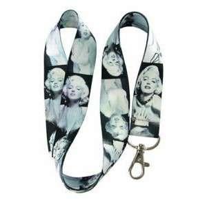 Marilyn Monroe Black/White Lanyard keychain holder