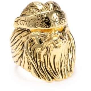 HAN CHOLO Shadow Series Mens Gold Plated Brass Big Chuy Vatos Locos