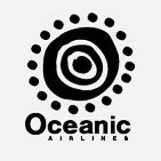 Lost Oceanic airlines logo Tshirt Multi colours S XXL