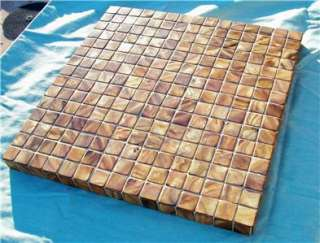 GLASS TILE MOSAIC TABLE TOP PATIO BISTRO COFFEE PLANT