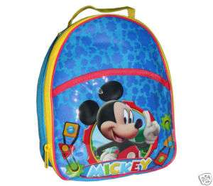 Disney Mickey Mouse Kids Soft Insulated Lunch Box Bag