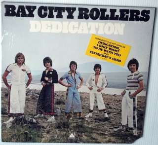 BAY CITY ROLLERS Dedication SEALED USA LP