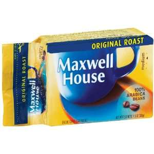 Maxwell House Coffee Original Roast Ground Medium   12 Pack