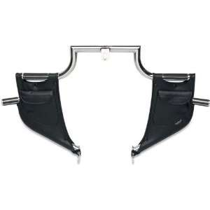 Drag Specialties Lowers for Lindby Highway Bars   Plain